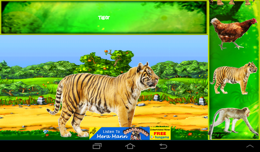 animals name for kids screenshot - Animals Pictures For Kids Free Download