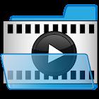 文件夹中的视频播放器 icon