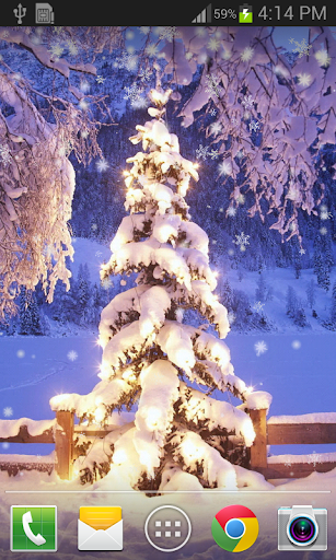 Christmas Snow Live Wallpaper 1.1.3 screenshots 7