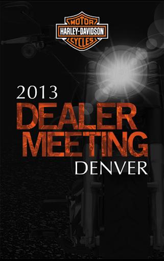 H-D Dealer Meeting