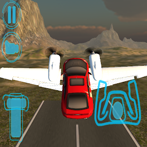 Flying Car Free: Plateau Way for PC and MAC