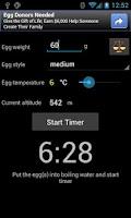 Screenshot of CookEgg Timer