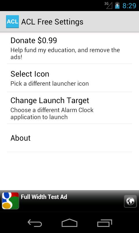 Alarm Clock Launcher - screenshot