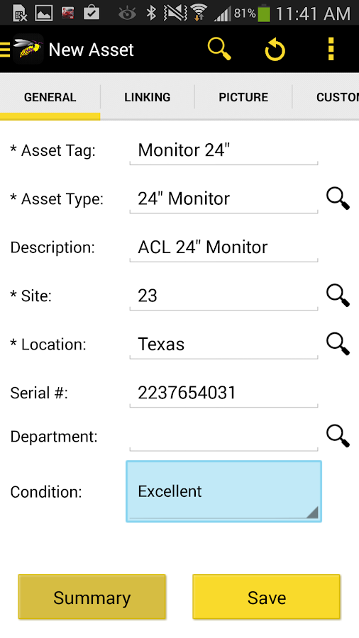 MobileAsset- screenshot