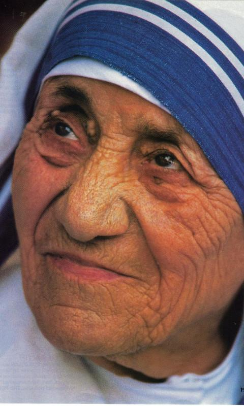 Mother Teresa. Quotes - screenshot