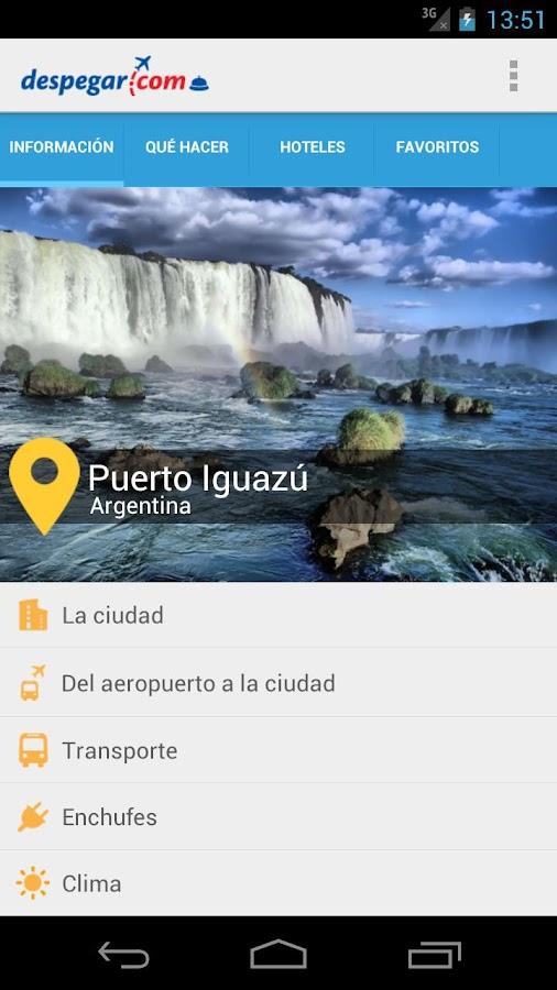 Puerto Iguazú: Guía turística- screenshot