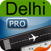Delhi Airport + Flight Tracker