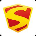 叫外卖,上外卖超人。嗖一下的美食。饿了么?快手机订餐。 icon