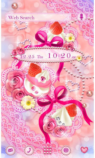 Pink Wallpaper Sparkly Sweets 1.0.1 Windows u7528 1