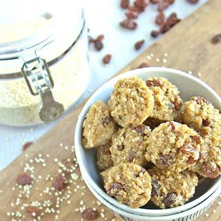 Cinnamon Raisin Quinoa Bites