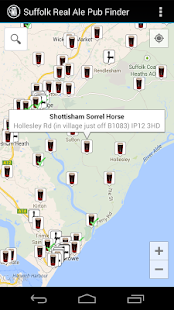 Suffolk Real Ale Pub Finder- screenshot thumbnail