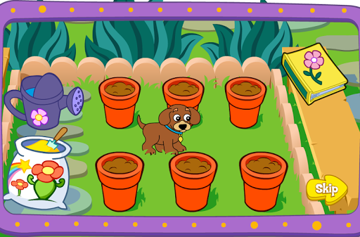 เกมส์ปลูกดอกไม้ในกระถาง