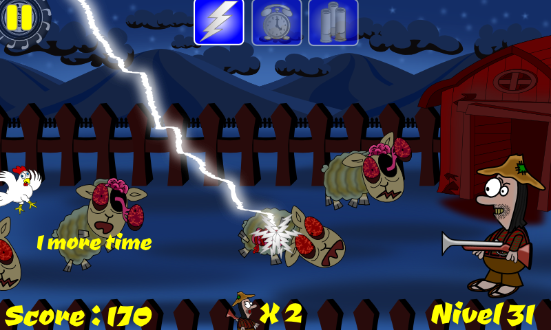 Smasher Zombie Sheep- screenshot