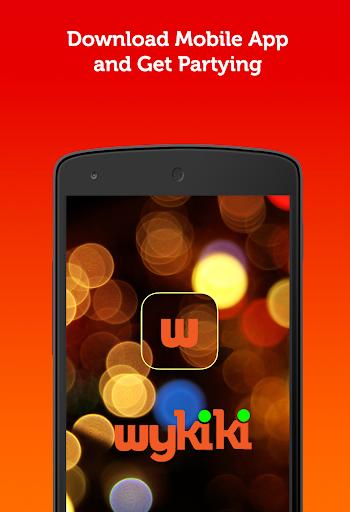 Wykiki - Nightclub app