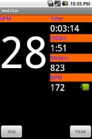 Screenshot of And/Oar Rowing Beta