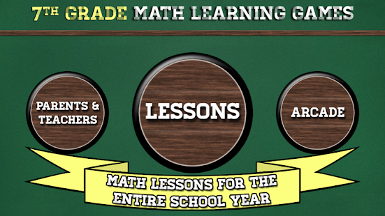 7th Grade Math Learning Games- screenshot thumbnail