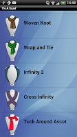 Screenshot of Tie A Scarf and Shawl Pro