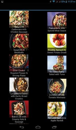 EAZY PASTA Recipes