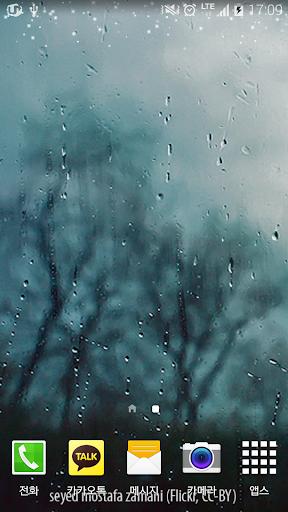 비오는날의풍경배경