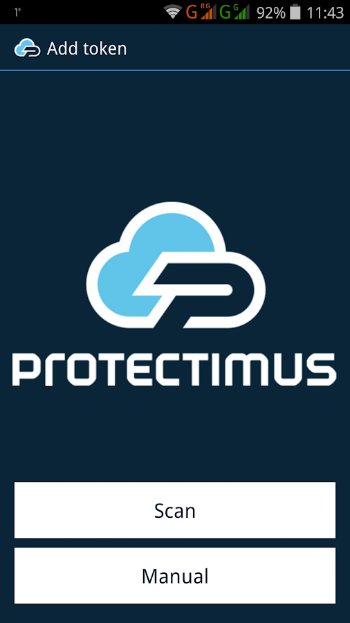 PROTECTIMUS SMART OTP- screenshot