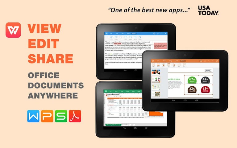 android WPS Office + PDF Screenshot 7