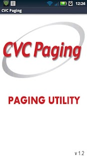 CVC Paging Paging Utility- screenshot thumbnail
