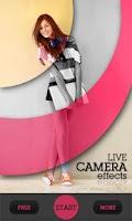 Screenshot of Live Camera Effects