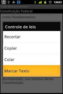Vade Mecum Juridico- screenshot thumbnail