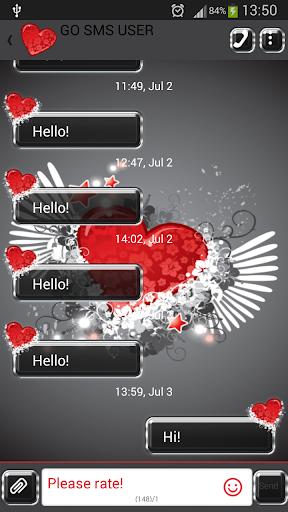 GO短信加强版暗恋