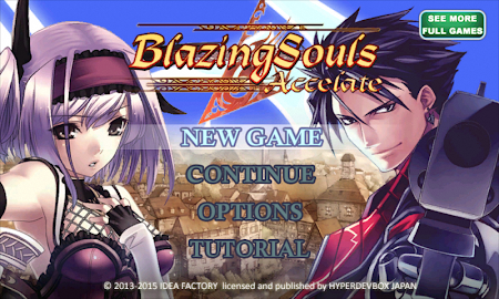 RPG Blazing Souls Accelate Screenshot 1