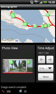 Geotographer Lite - screenshot thumbnail