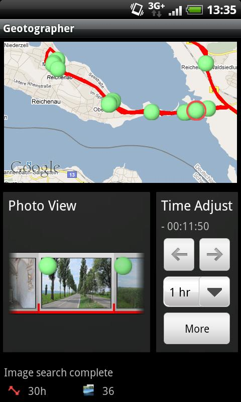 Geotographer Lite - screenshot