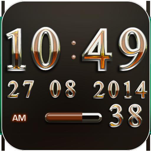Digi Clock Widget Bernstein