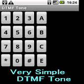Very Simple DTMF Tone Software