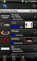 Screenshot of Melita netbox HD control