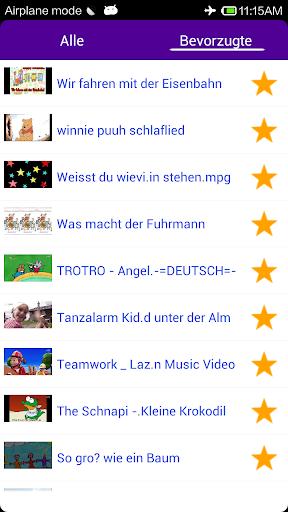 【免費媒體與影片App】德國的兒童歌曲-APP點子
