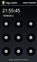 Screenshot of Alarm Anti Theft Screen Lock