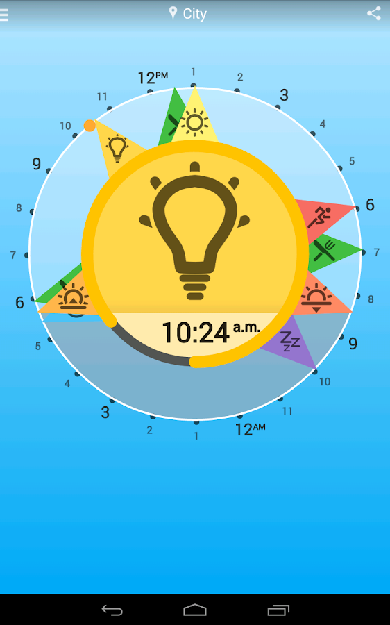 Solar Clock: Circadian Rhythm- screenshot