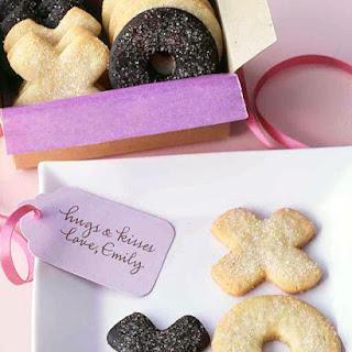 Chocolate Hugs and Kisses Cookies