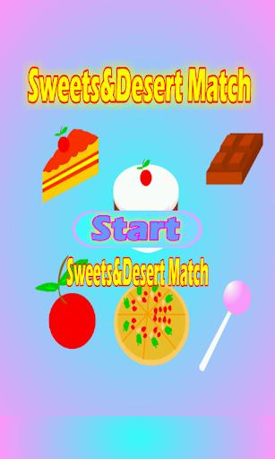 Sweets Desert Match