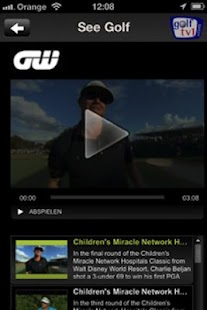 Golf TV - screenshot thumbnail
