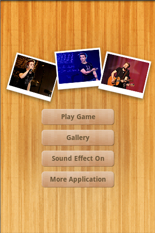 Hunter Hayes Puzzle Games - screenshot