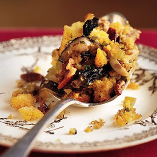 Cornbread, Wild Mushroom, and Pecan Stuffing.