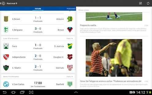 Liga Argentina de Fútbol Screenshot 9