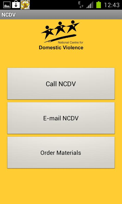 NCDV Referral- screenshot