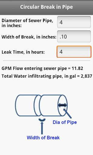 玩免費工具APP|下載Wastewater Infiltration Calc app不用錢|硬是要APP