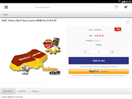 Screenshot of JMS Carparts Germany