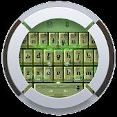 Green Glass TouchPal Theme