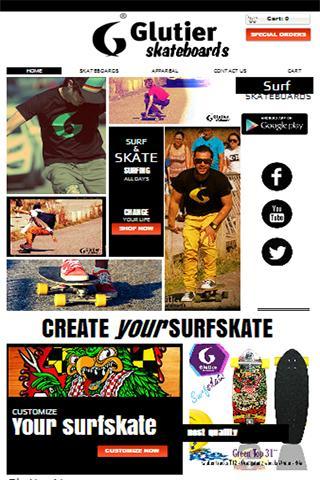 Glutier skateboards