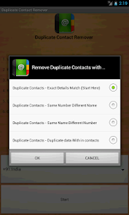 Duplicate Contacts Remover - screenshot thumbnail
